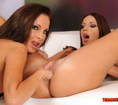 Debbie White & Kissy Fisting Each Other - Teach Me Fisting 9