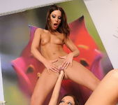 Debbie White & Kissy Fisting Each Other - Teach Me Fisting 14