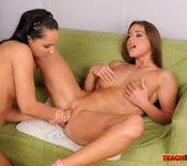 Sabrina Sweet & Chaty Heaven Fisting Lesbians 13
