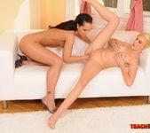 Sabrina Sweet & Blondy Fisting Lesbians - Teach Me Fisting 9