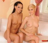 Sabrina Sweet & Blondy Fisting Lesbians - Teach Me Fisting 20