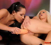 Sabrina Sweet & Jenna Lovely Fisting Girls 12