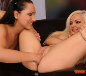 Sabrina Sweet & Jenna Lovely Fisting Girls 15