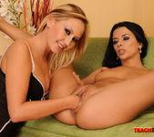 Shalina Divine & Tissy Teyra Fisting Girls 11