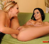 Shalina Divine & Tissy Teyra Fisting Girls 12