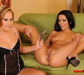 Shalina Divine & Tissy Teyra Fisting Girls 16