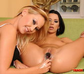 Shalina Divine & Tissy Teyra Fisting Girls 19