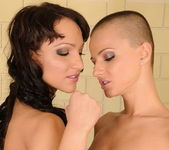 Sabrina Sweet & Sinead Girl on Girl Fisting 6