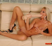 Bambi & Chanel Fisting Each Other - Teach Me Fisting 8