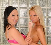 Bambi & Chanel Fisting Each Other - Teach Me Fisting 12