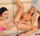 Bambi & Chanel Fisting Each Other - Teach Me Fisting 13
