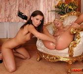 Kissy & Bianka Fisting Lesbians - Teach Me Fisting 12