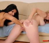 Izabella De Cruz & Monik Fisting Lesbians - Teach Me Fisting 20