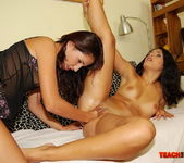 Gail & Izabella De Cruz Fisting Girls - Teach Me Fisting 17