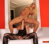 Trisha & Blond Cat Fisting Girls - Teach Me Fisting 14