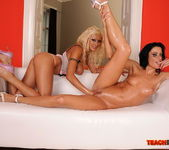 Trisha & Cecilia Vega Fisting Lesbians - Teach Me Fisting 18