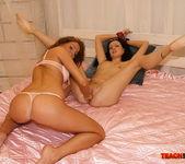 Kissy & Karmen - Lesbian Fisting - Teach Me Fisting 9