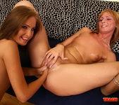 Kissy & Gabriella May Fisting Lesbians - Teach Me Fisting 17