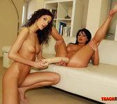 Belle & Leanna Sweet - Lesbian Fisting - Teach Me Fisting 10