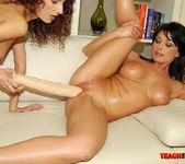 Belle & Leanna Sweet - Lesbian Fisting - Teach Me Fisting 12