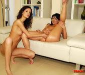 Belle & Leanna Sweet - Lesbian Fisting - Teach Me Fisting 15
