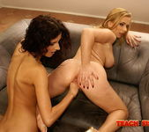 Steliana & Leanna Sweet Fisting Lesbians - Teach Me Fisting 20