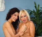 Leanna Sweet & Tissy Teyra Girl on Girl Fisting 9