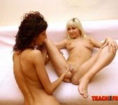 Leanna Sweet & Keena Girl on Girl Fisting - Teach Me Fisting 10