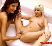 Leanna Sweet & Keena Girl on Girl Fisting - Teach Me Fisting 11