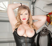 Victoria Tyler - Big Tits And Leather 11