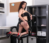 Tyna Black - The Sexy Office Lady 4