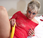 Dimonte - Lady In Red Laced Lingerie 3