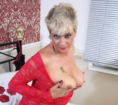 Dimonte - Lady In Red Laced Lingerie 5
