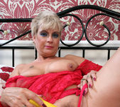 Dimonte - Lady In Red Laced Lingerie 9