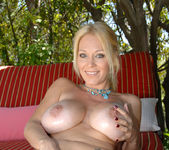 Charlee Chase - Poolside With Her Toy 11