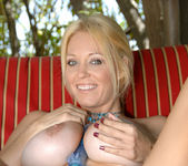 Charlee Chase - Poolside With Her Toy 13