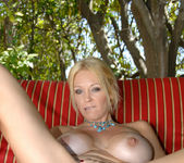 Charlee Chase - Poolside With Her Toy 14
