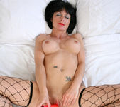 Barbie Stroker - Bedroom Fishnet Stocking 13