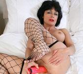 Barbie Stroker - Bedroom Fishnet Stocking 15