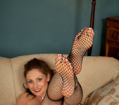 Sophia Delane - Sexy Fishnet Stocking 22