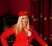 Michelle B - Naughty Stewardess 3