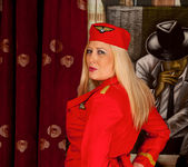 Michelle B - Naughty Stewardess 5