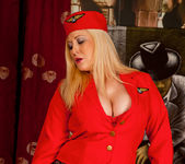 Michelle B - Naughty Stewardess 11