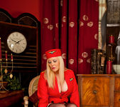 Michelle B - Naughty Stewardess 12