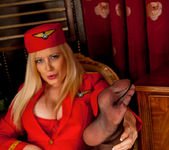 Michelle B - Naughty Stewardess 15