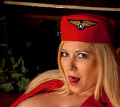 Michelle B - Naughty Stewardess 21