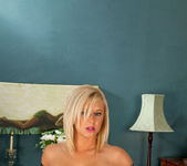 Anna Joy - Double End Glass Dildo 13