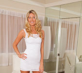 Alysha Rylee - Tight White Dress 4