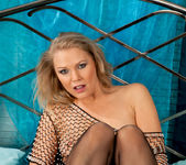Abi Toyne - Fishnet Nipple Play 22