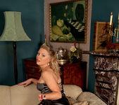 Abi Toyne - Leather Skirt And Heels 7